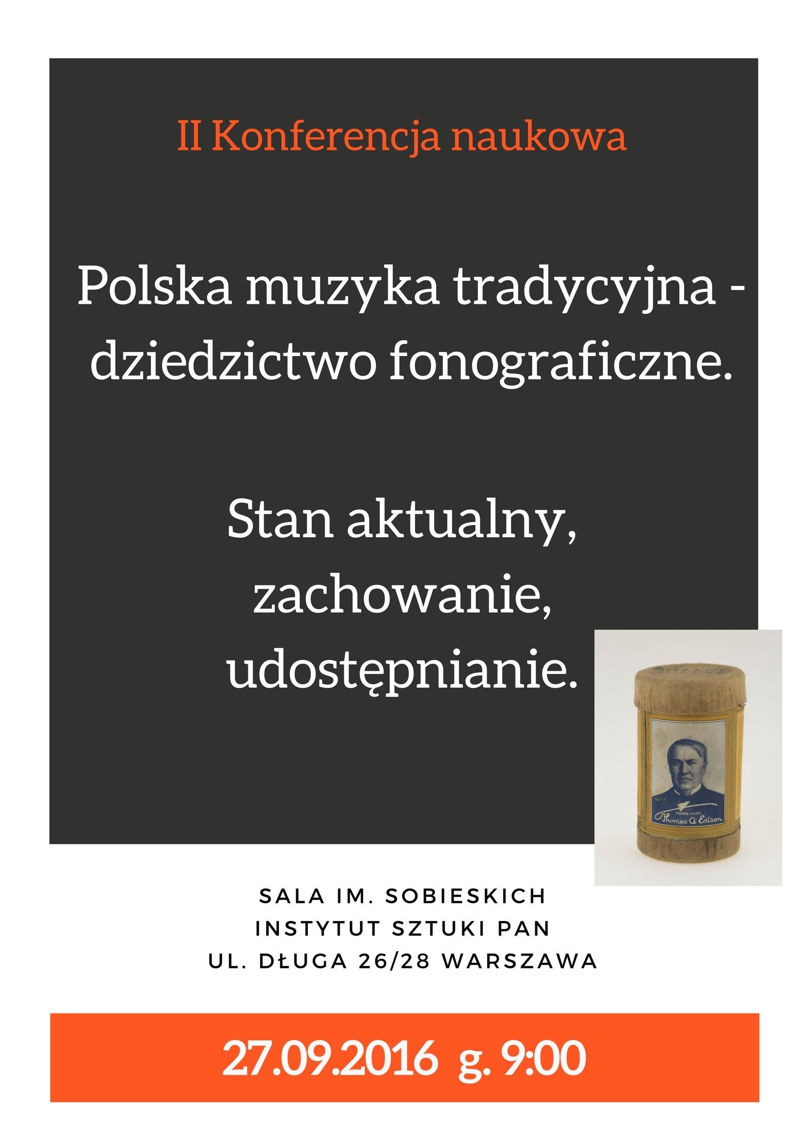 Plakat_Polska muzyka tradycyjna